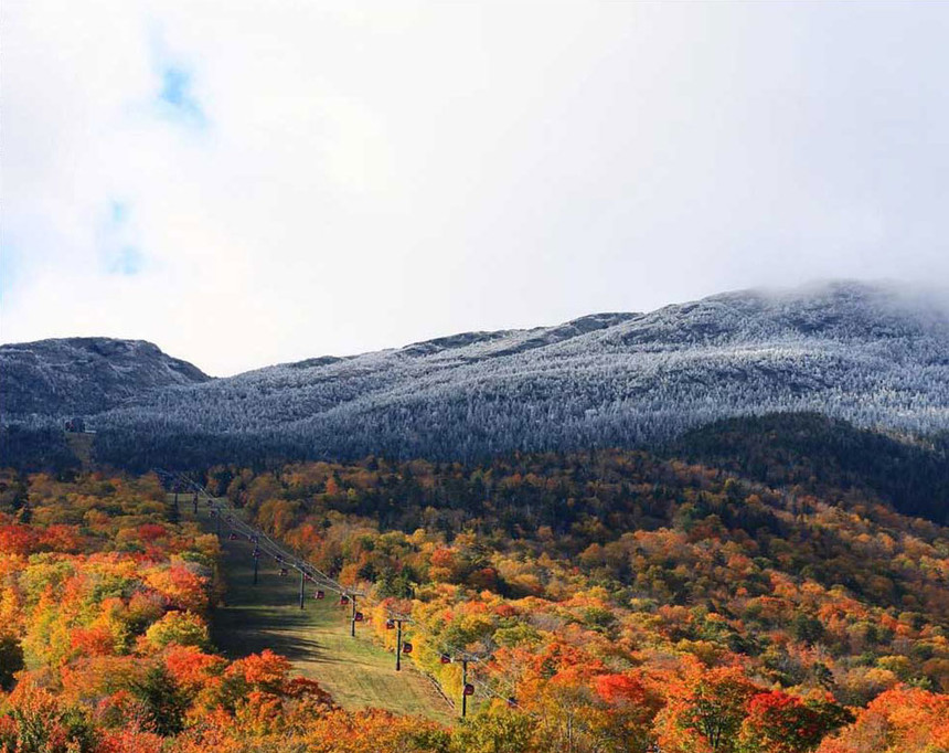 Photo by Scott Braaten of Stowe Mountain Resort