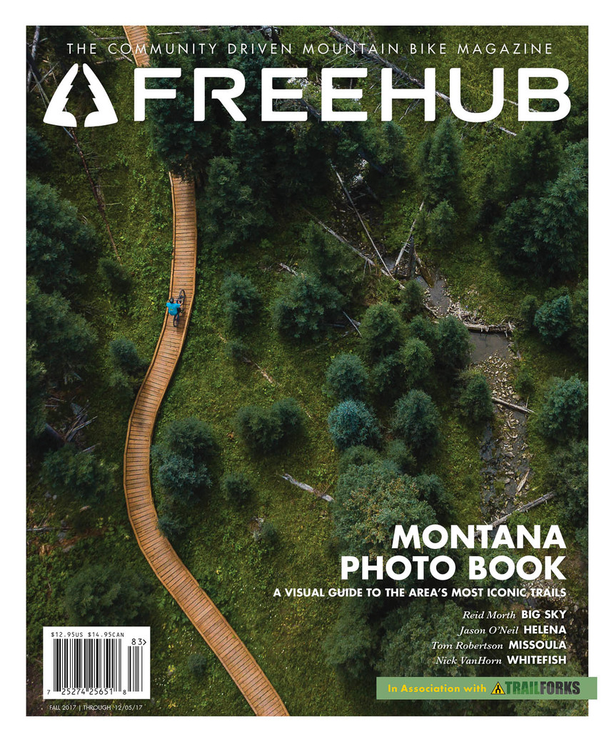 Freehub Magazine Issue 8.3, the Montana Photo Book