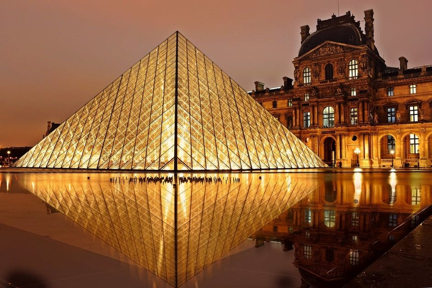 The Louvre - one of the best sights in Paris