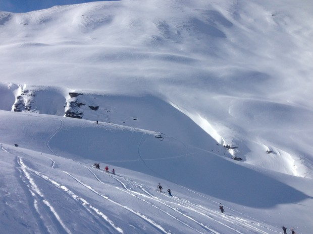 The Walk Out of the Motatapu Chutes. PHOTO: onmag.co.nz