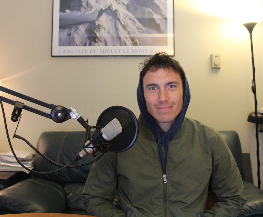 Chris Burkard at the LPP Studios. Photo. Mark Warner