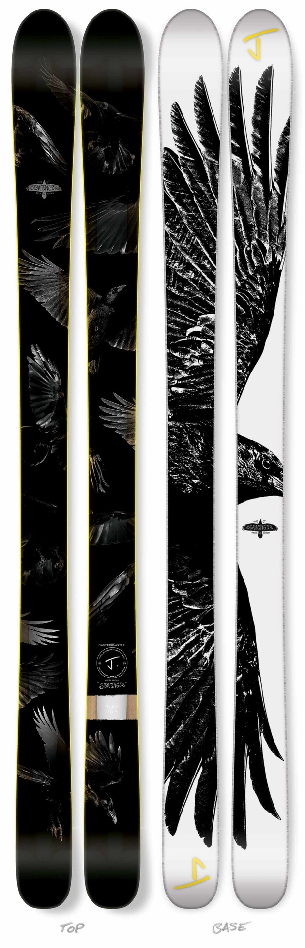 "The Masterblaster ""Scavenger"" Limited Edition Ski by J"