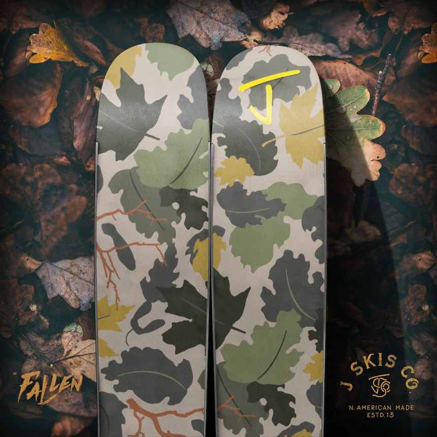 "The ""Fallen"" Limited Edition Allplay Ski by J"