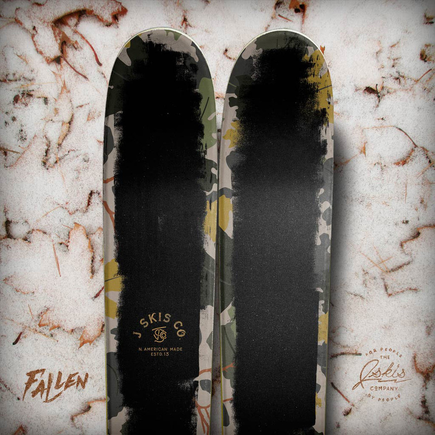 "The ""Fallen"" Allplay Limited Edition Ski by J"
