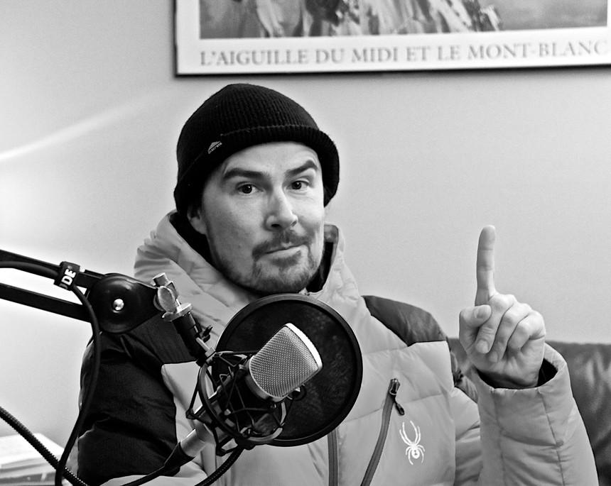 Julian Carr in the LPP Studios / Mark Warner Photo