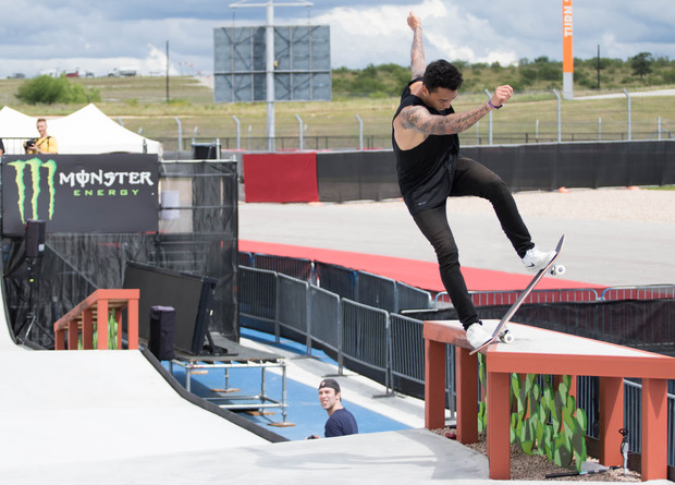 Nyjah Huston in Practice