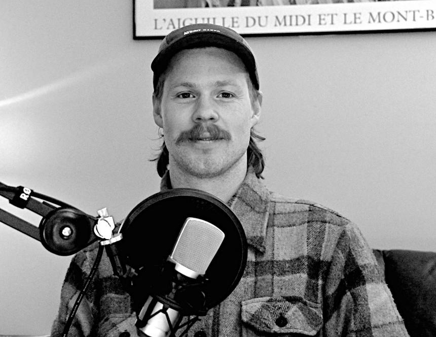 Parker White in the LPP Studios