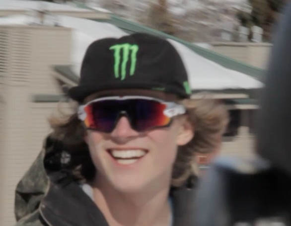 Colby looking especially hip in his Slopestyle edit. While the video was shot at Park City Mountain Resort, Colby calls Alta his home.