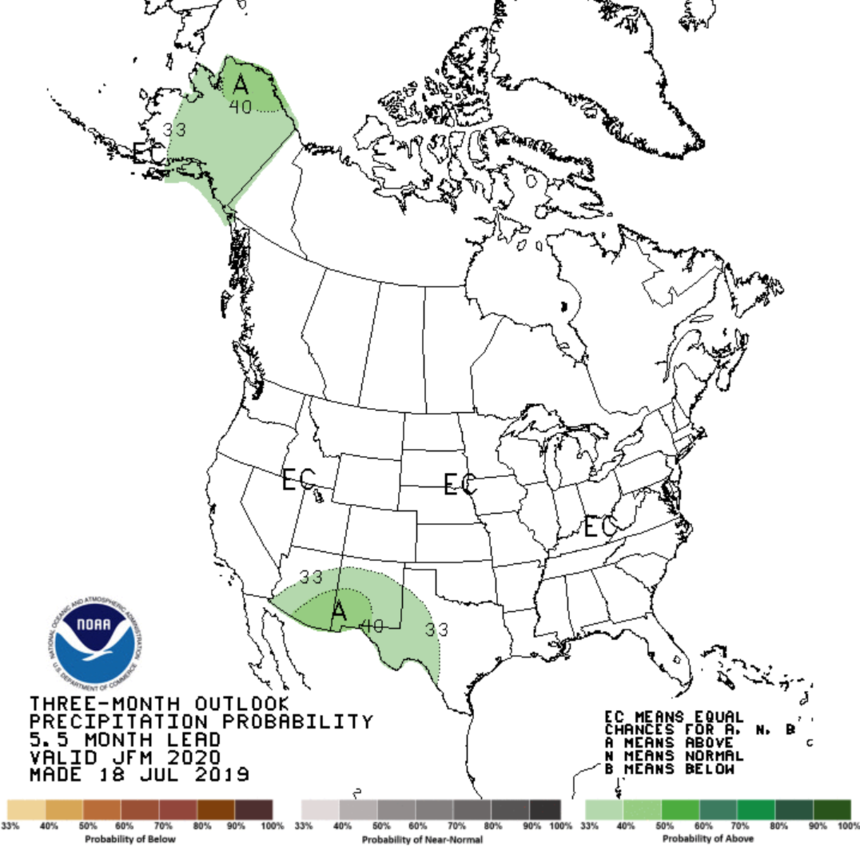 Winter 2020 NOAA Forecast: Warm Temps and No El Niño | Teton