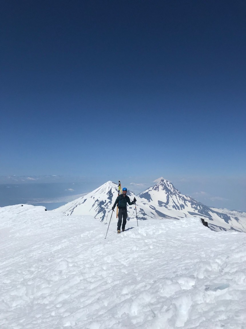 South Sister Summit! Looking back on N Sister & Middle Sister