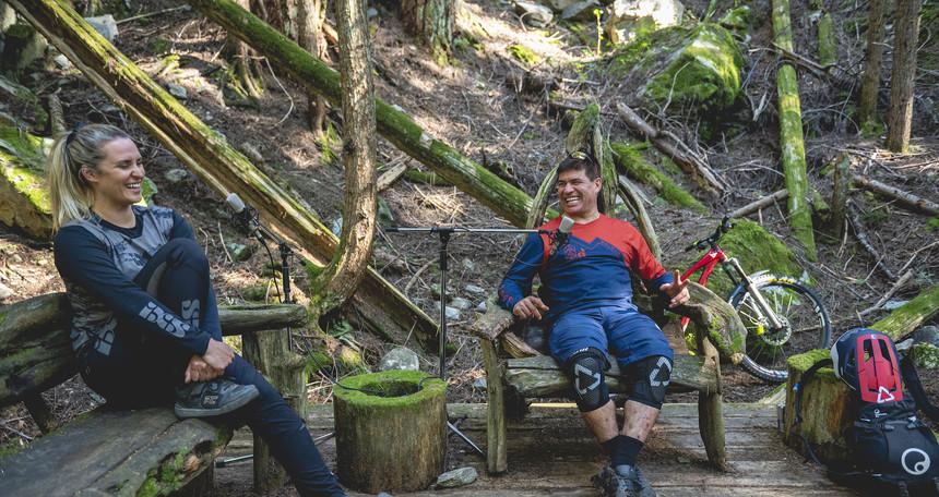 Brett Tippie and Micayla Gatto in the Brett Tippie Podcast - Forest Studio / Guy Fattal Photo
