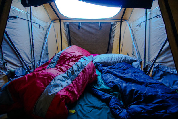 While the photo doesnu0027t do it justice the Autana Sky will sleep three adults comfortably or two adults and two high-maintenance dogs. Ryan Dunfee photo. & Teton Tested: Tepuiu0027s 3-Person Autana Sky Cartop Tent | Teton ...