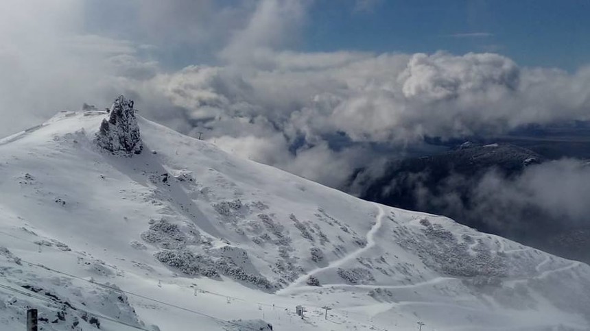 April 11th in Cerro Catedral Argentina after the Autumn storm cleared