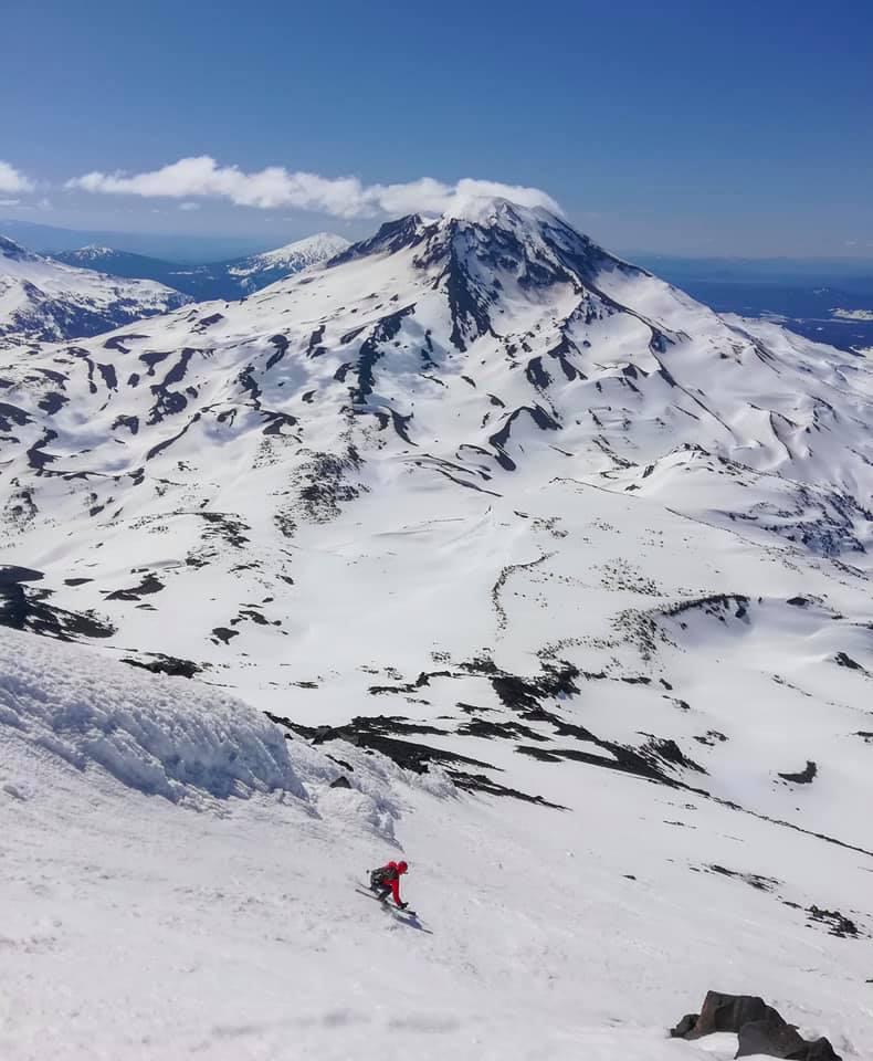 Middle Sister, South Ridge Ski
