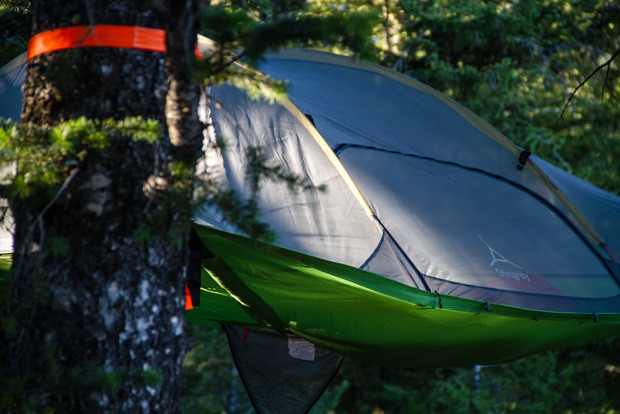 Ryan Dee photo. & Dominate Your Glampsite With The Tentsile Stingray | Teton Gravity ...